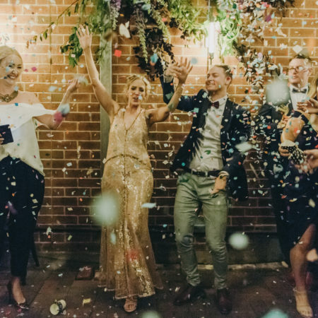 Modern Industrial Fremantle Wedding