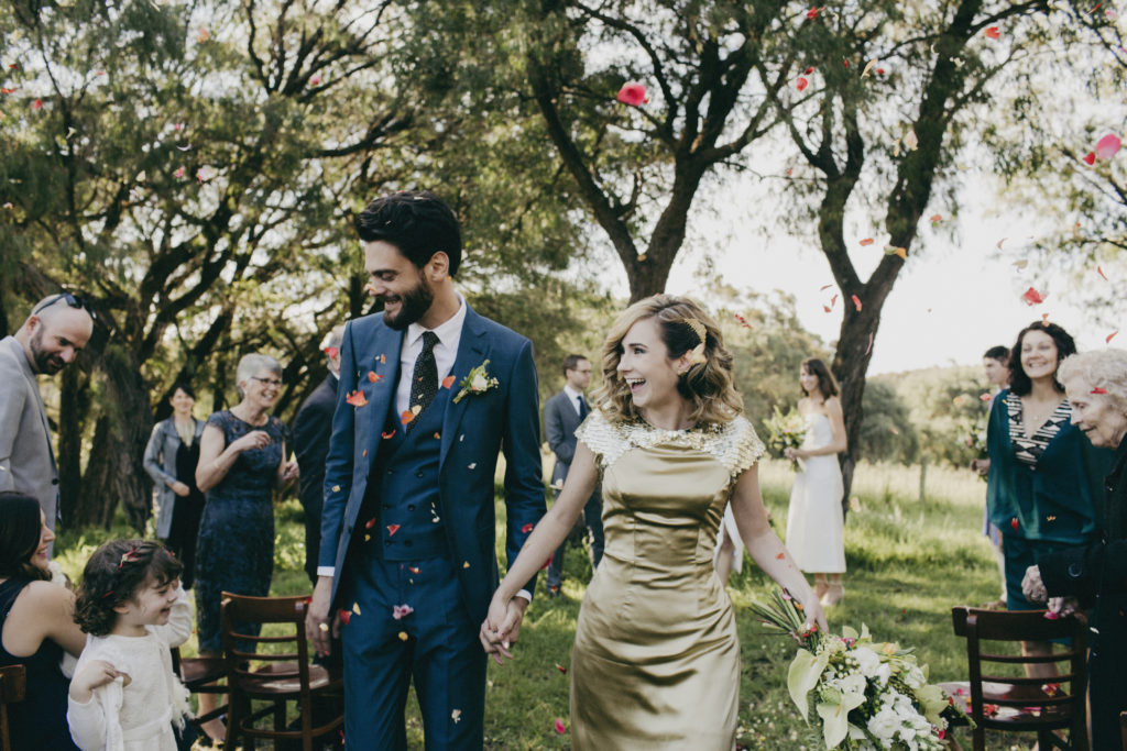 Margaret River Bride and Groom Wedding